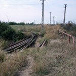 Estacada peste Paraul Pascov pentru conducte amestec, injectie, pompare Sector Bucsani, jud. Dambovita
