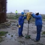 Recoltare probe de pamant in vederea determinarii poluarii - Arad