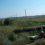 Traversare Apa Mare cu colector apa depozit Satchinez -Dezbenzinare Calacea